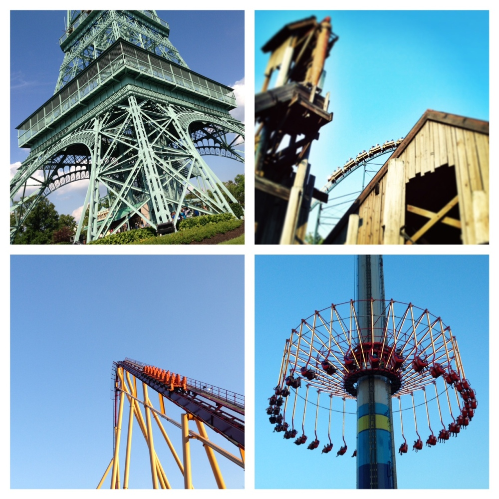 Rides at Kings Island