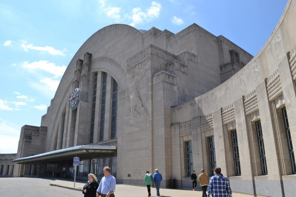 Union Terminal exterior again. This time with Date.