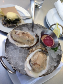Oven Roasted Oyster with Hollandaise and Chesapeake Bay Oysters
