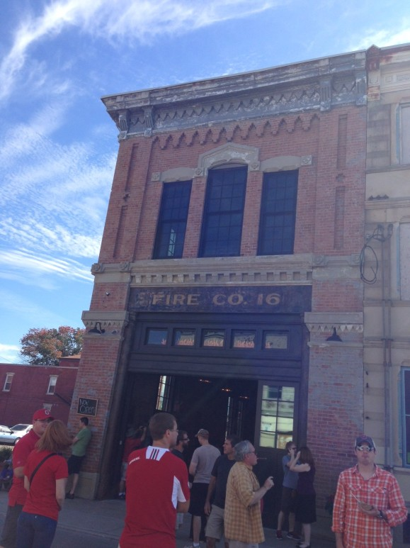 Grand Opening celebration of Fireside Pizza in Cincinnati's oldest firehouse.