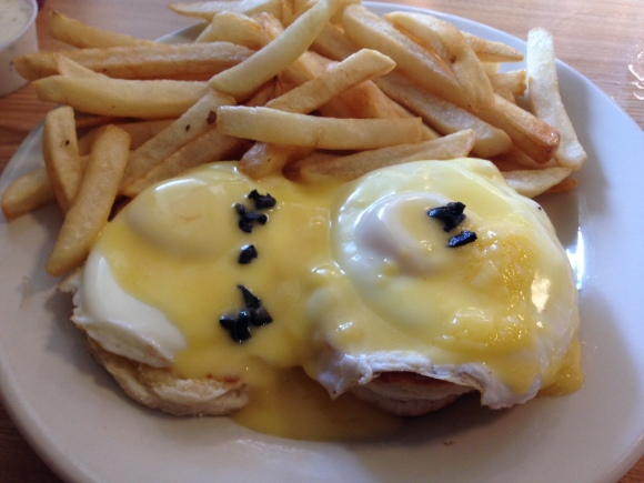 Eggs Benedict from Parkside.