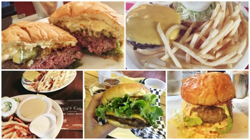 Favorite Five Burgers
