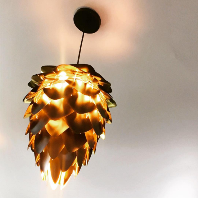 Hop light fixture at Fibonacci