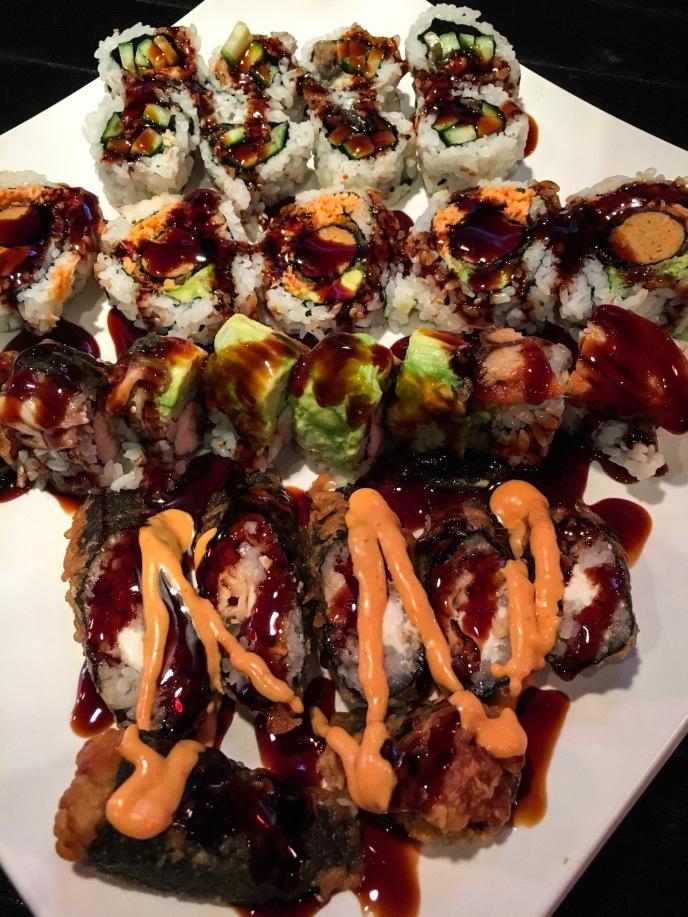 Sushi from Wabi Sabi