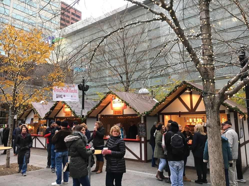 ChristkindlMarkt at Fountain Square