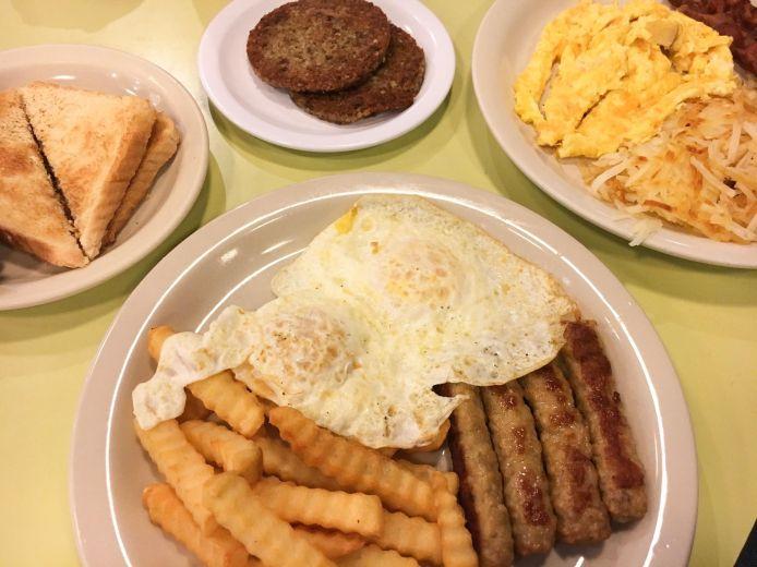 Breakfast from Bluebird Restaurant