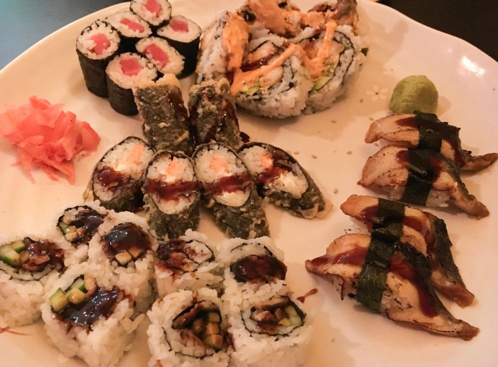 Dancing Roll sushi