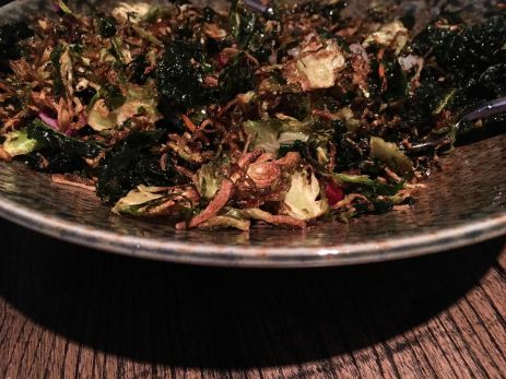 Brussels Sprouts Salad from E+O Kitchen