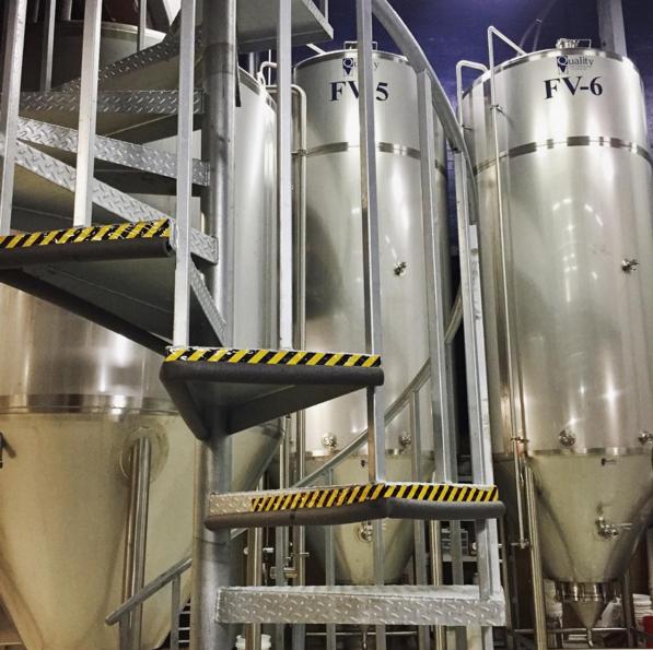 Production equipment at Braxton