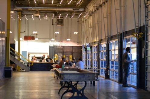 Taft's Brewporium, interior