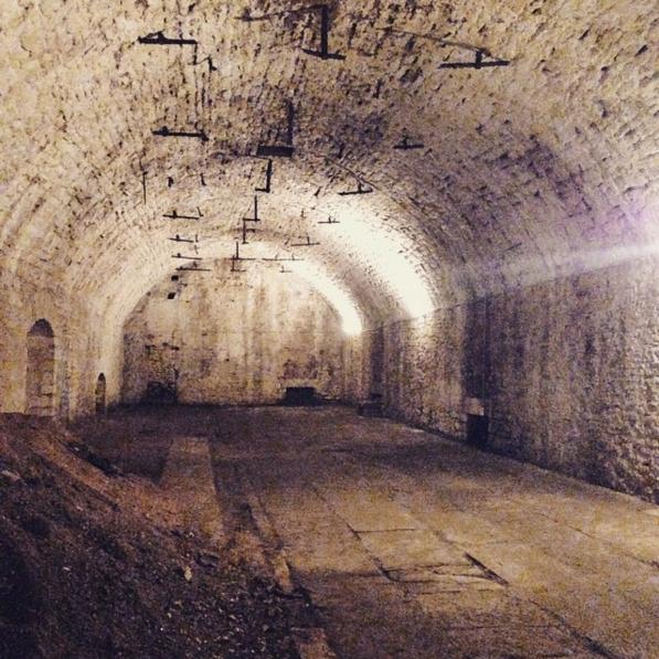 Lagering tunnel below Christian Moerlein Brewing Co.
