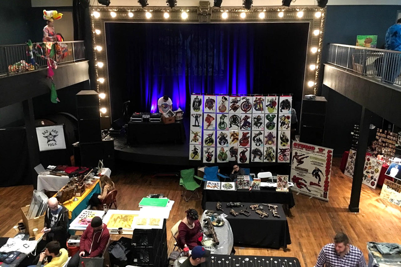 Pop art con cincinnati 2017 tour de cincinnati for Craft shows in cincinnati