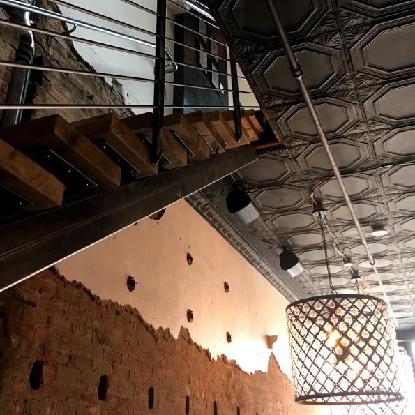 Stairway upstairs