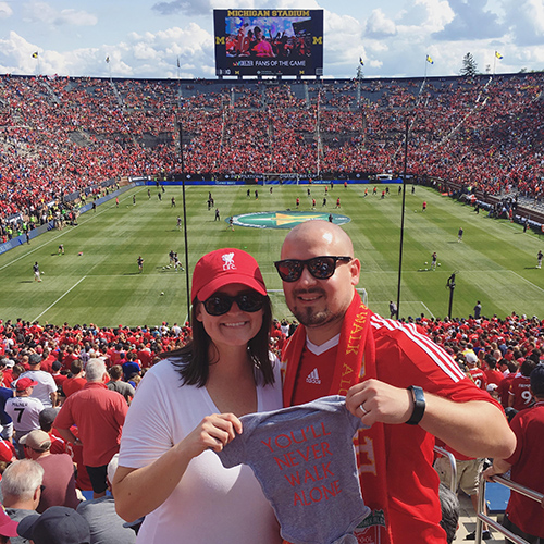 Liverpool v. Man United in the Big House